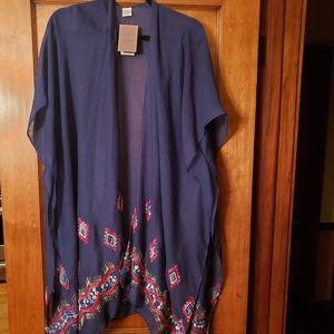 Kimono navy blue